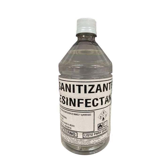 Alcohol Liquido Sanitizante X 1 Lts