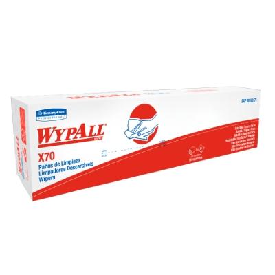 PaÑo Wypall X70 Interfold 30162199 50 PaÑos 42,5 Xm X 25 Cm