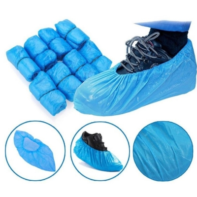 Cubrecalzado De Frizelina Color Azul