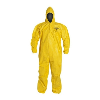 Mameluco Simil Tychem Quimicos Is Qc Amarillo 65grs Tl 1103a