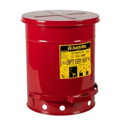 Justrite Tanque P/desechos 38 Litros A Pedal 09300