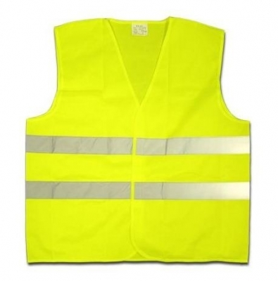 Chaleco Reflex Color Amarillo Pesado Marca Ws
