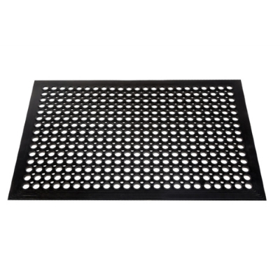 Alfombra Tapete Ergonomico Antifatiga Con Drenaje 610x914x12mm Roamat-500