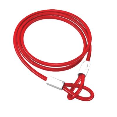Blook Cable De Acero Revestido Color Rojo 5 Mm