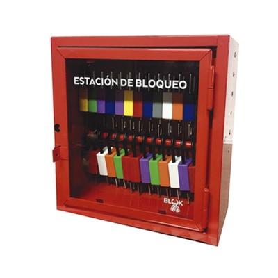 Blook Lockout Estacion De Bloqueo Chica En Chapa 29cm X 29cm
