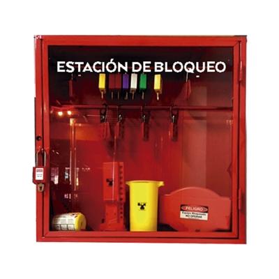 Blook Lockout Estacion De Bloqueo Grande En Chapa  58cm X 58cm