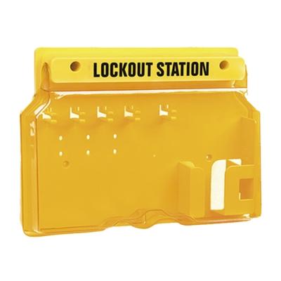 Blook Lockout Estacion Con Tapa Para 5 Candados + Tarjetas