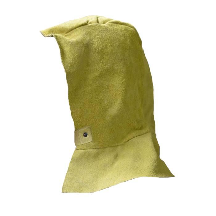Gorro Descarne Amarillo Para Soldar C/nuquera