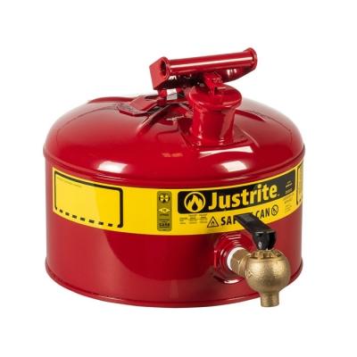 Justrite Bidon De Seguridad 3 Galones Con Grifo 7225140 (ex 10707)
