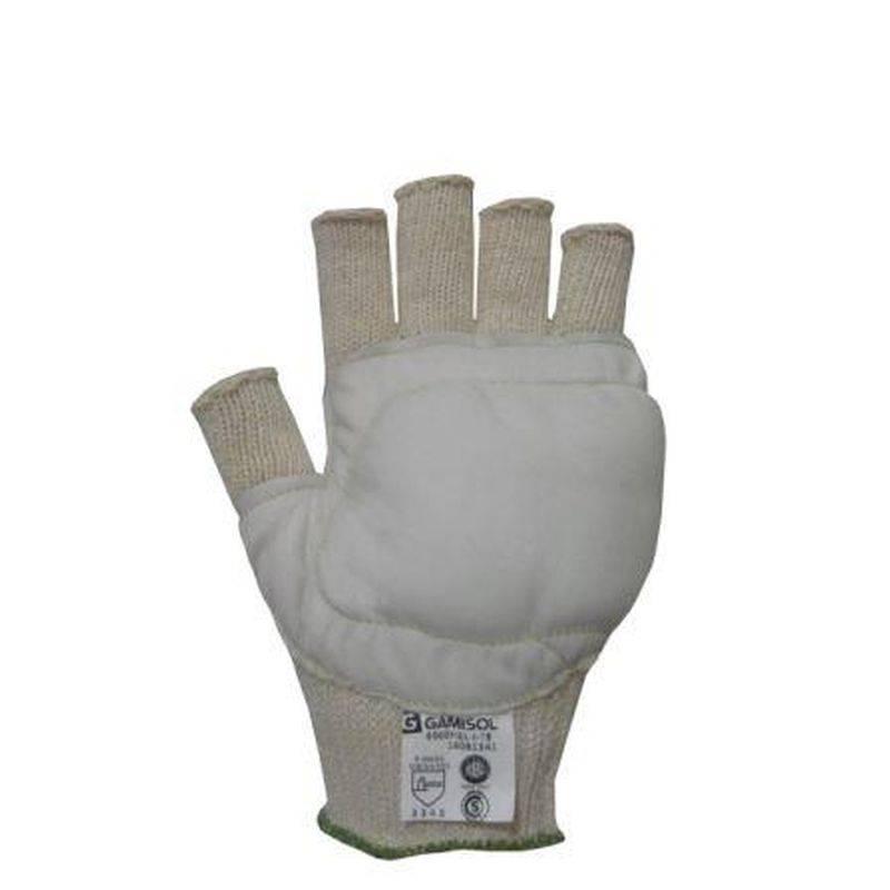 Guante Open Finger Ref Vaqueta/fieltro X Par 6900 Fiel
