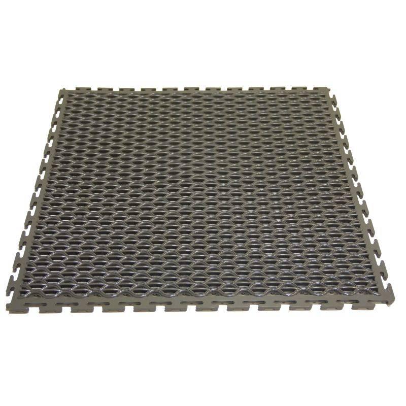 Caja De Baldosas Ergonomicas Gris Oscuro X 2 Mt2 (8 Baldosas De 50x50)