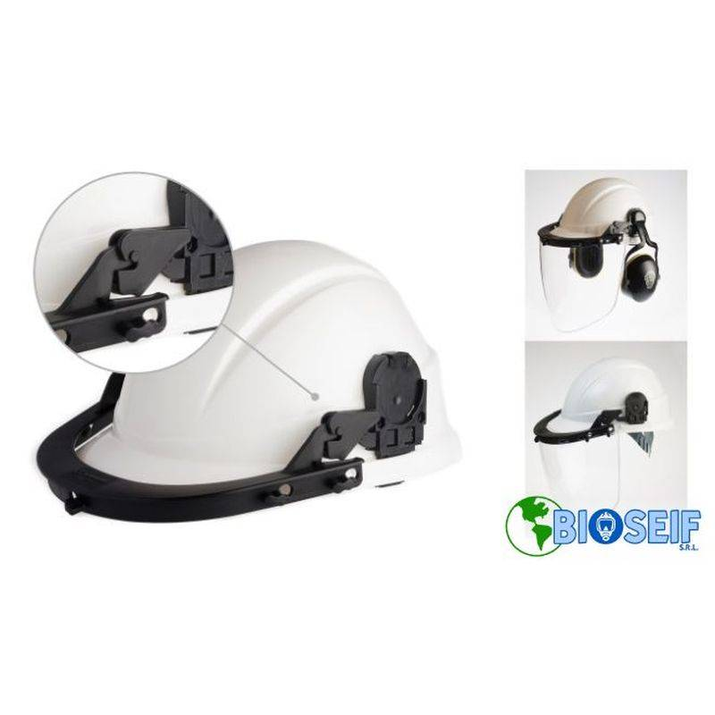 Libus Adaptador Casco Facial/audit U Soporte Prot Facial Y Auditivo A Otros Cascos
