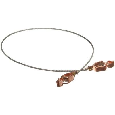 Justrite Cable Flexible Para Descarga De Estatica