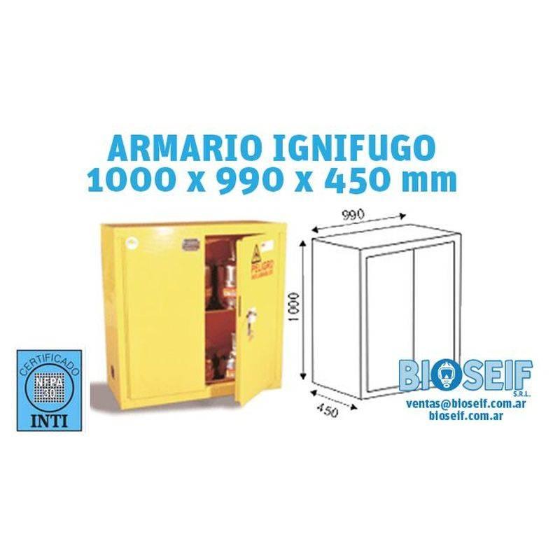 Armario Ignifugo 2 Puertas Modelo 7500