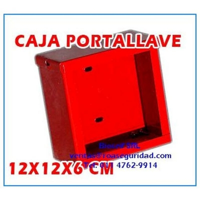 Caja Porta Llave Cuadrada C/vidrio