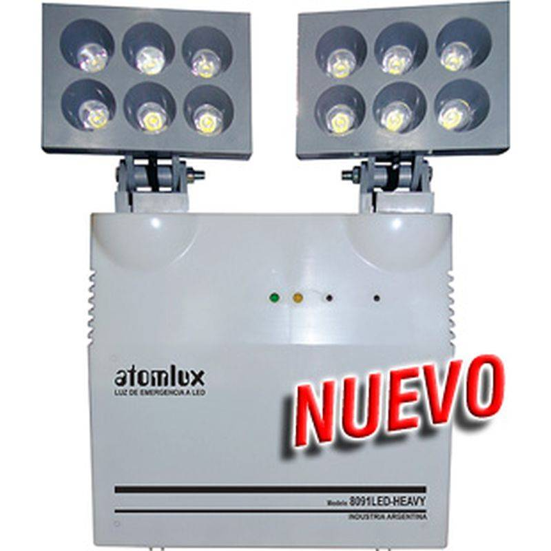 Atomlux Luz De Emergencia 8091 Led Heavy