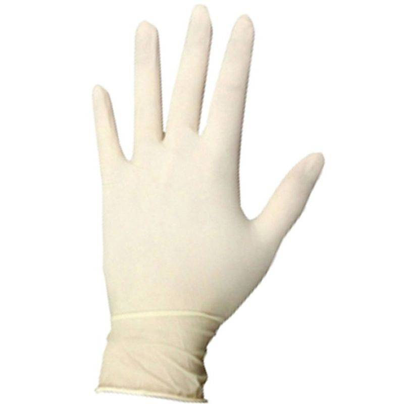 Mg Latex Guantes Descartables X 100 Unid