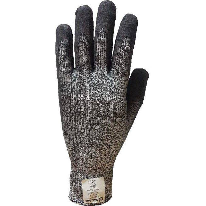 Guantes Anticorte Dyneema G13 BaÑo Latex 125dy10v